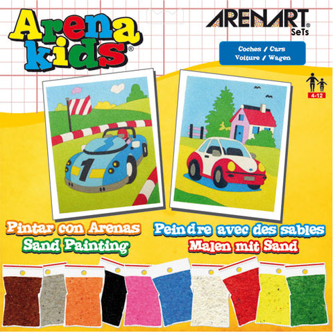 Set Arenas Kids 'Coches' ARENART