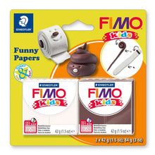 Kit Funny Papers FIMO Kids