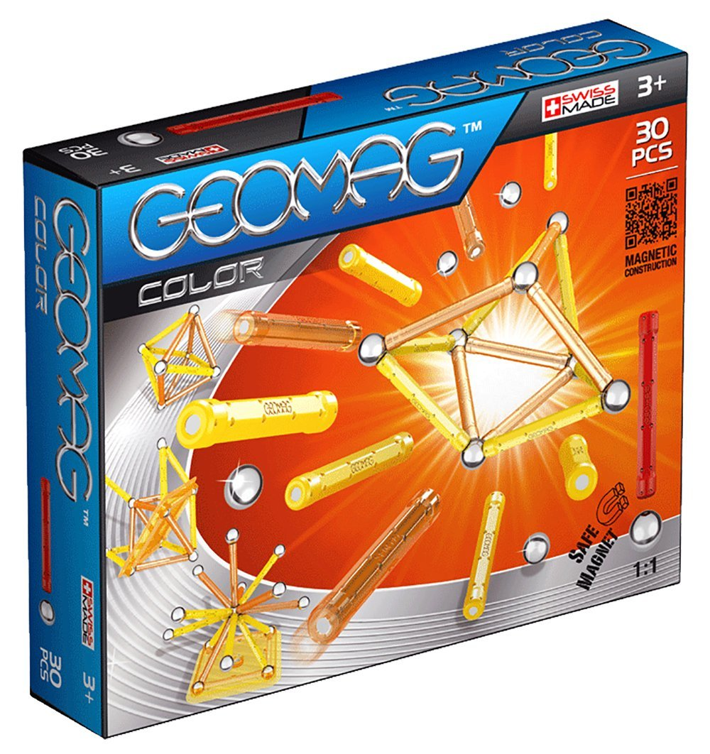 Kit Magnetismo Color GEOMAG 30 piezas