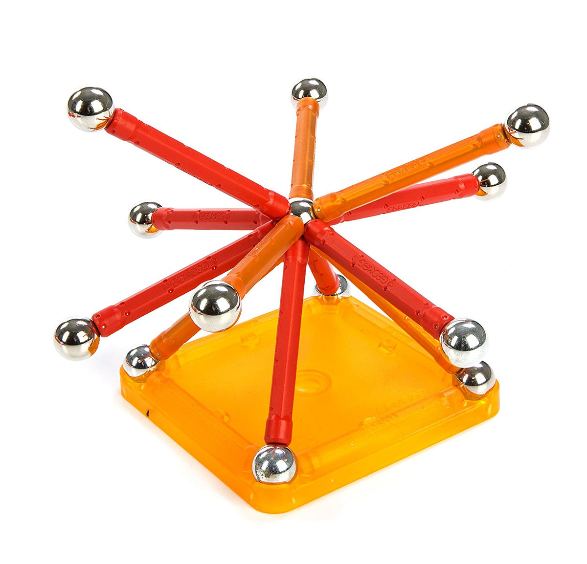 Kit Magnetismo Color GEOMAG 64 piezas