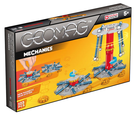 Kit Geomag Mechanics 103 Piezas