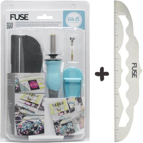 *Oferta* Kit Photo Sleeve Fuse + Regla Fuse 12""