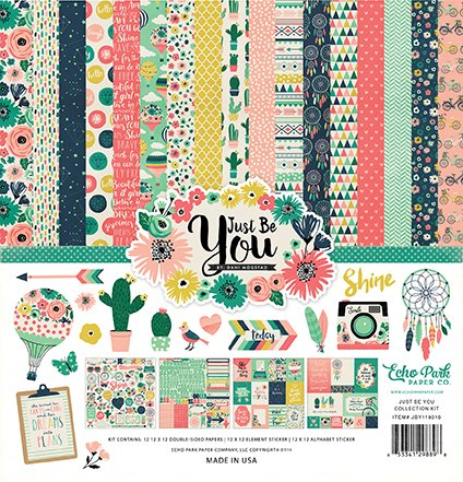 "Kit Scrapbooking Just Be You 12x12"" Echo Park"