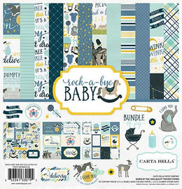 "Kit Scrapbooking Rock a Bye Boy 12x12"" Carta Bella"
