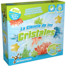 La Ciencia de los Cristales Science4you