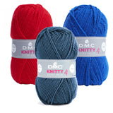 Ovillo Knitty 4 DMC 50gr