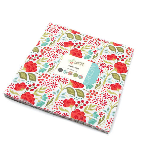 "Layer Cake Juniper Berry 42 cuadrados de 10""x10"" by Moda Fabrics"