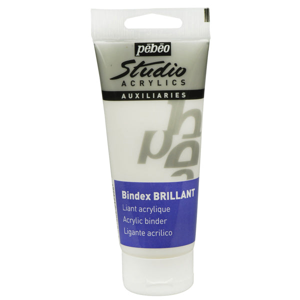 Ligante Bindex Brillante Acrílico 100ml Pebeo
