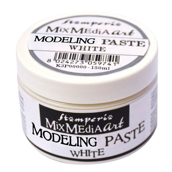 Modeling Paste Blanco 150ml Stamperia