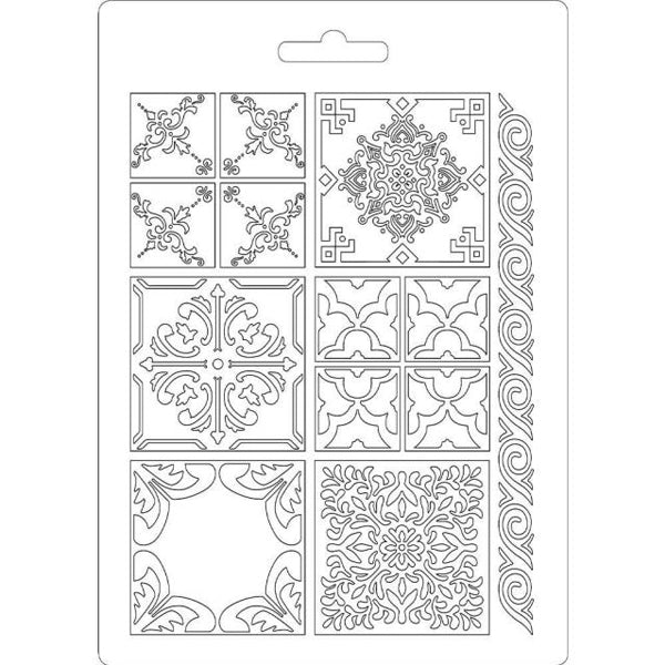 Molde Flexible 'Azulejos' A5 Stamperia