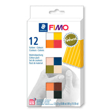 Pack 12 Colores Natural 25gr FIMO