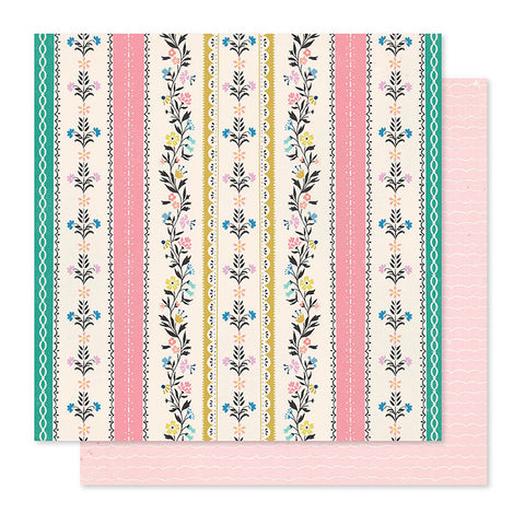 "Papel Scrap 'Bright Days' Willow Lane 12x12"" Crate Paper"