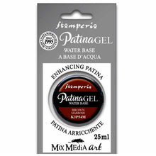 Pátina Gel Marrón 25ml Stamperia