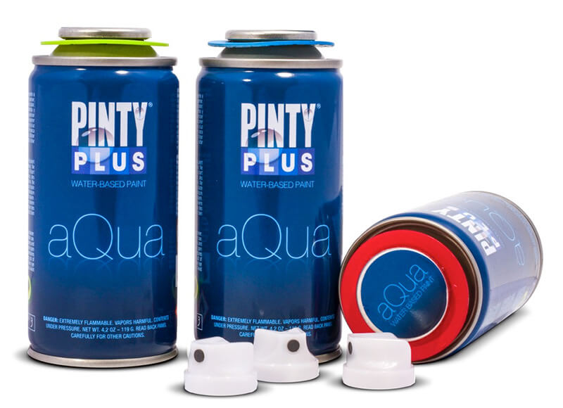 Pintura en Spray 210ml Pintyplus Aqua