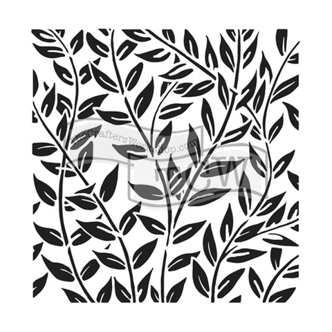 Plantilla Stencil 30x30cm Jungle Vines