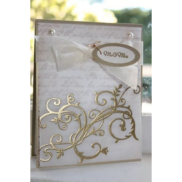 Polvos para Embossing 'Gold Tinsel' Whispers