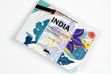 Postales Para Colorear India The Pepin Press