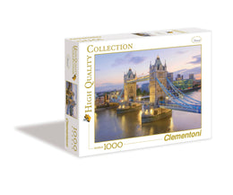 Puzzle 1000 Tower Bridge Londres Clementoni