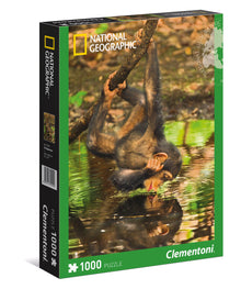 Puzzle 1000 Chimpancé Clementoni National Geographic