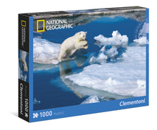 Puzzle 1000 Oso Polar Clementoni National Geographic