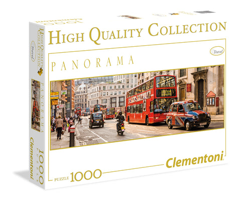 Puzzle 1000 Londres Panorama Clementoni