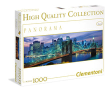 Puzzle 1000 Brooklyn Nueva York Panorama Clementoni