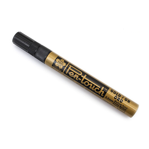 Rotulador Oro Sakura Pen Touch Medio 2mm