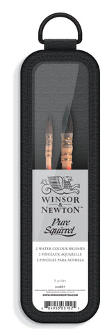Set 2 Pinceles Acuarela Pure Squirrel Winsor & Newton