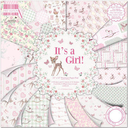 "Kit Scrapbooking It's a Girl 12x12"" First Edition"