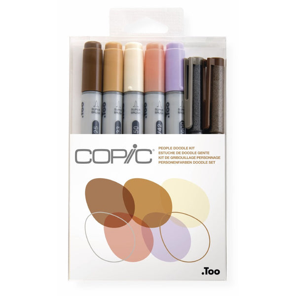 Rotuladores Copic Ciao People Doodle Kit
