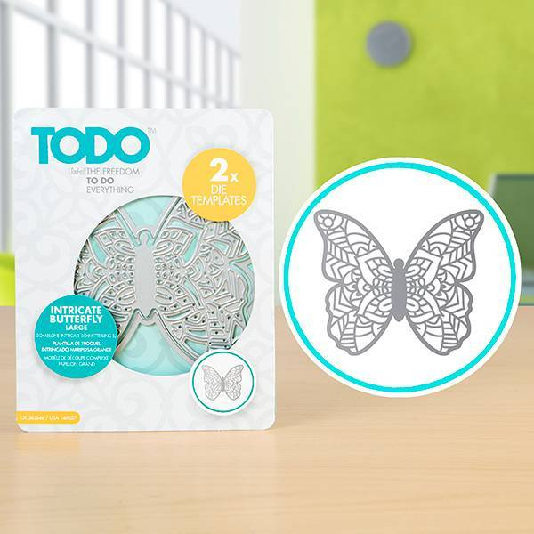 Set Troqueles Intricate Butterfly TODO