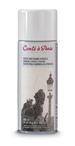 Spray Fijador 400ml para Carboncillos y Pasteles Conté à Paris