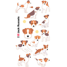 Stickers Perros Jack Russels Artemio