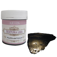 Textura Lisa Plata Antigua 100ml ARTIS Dayka