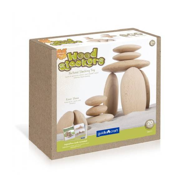 Wood Stackers River Stones Guide Craft