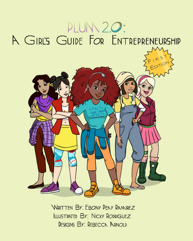 Book Cover of Girl Entrepreneurship book green