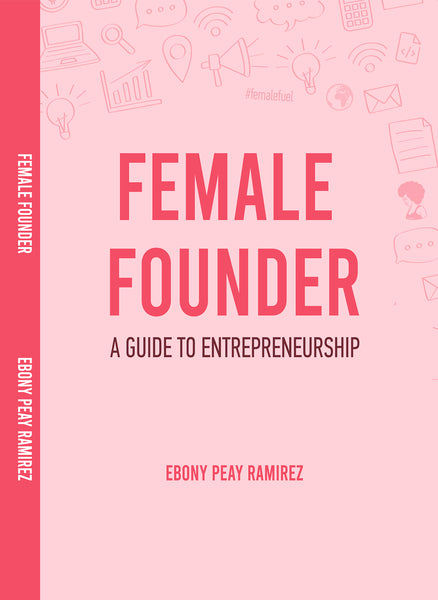 NEW COVER!!! Female Founder Guidebook Journal (Middle School to High School)