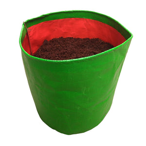 Green HDPE Grow Bags, UV Protected Plant Grow Bags, Planter, Pots for Kitchen Gardening