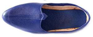 Krafto Men's Plain Blue Jalsa Jutis