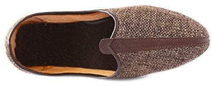 Krafto Men's Brown Mesh Jalsa Jutis