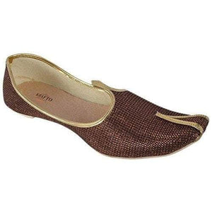 krafto mens fabric and jute juttis 4