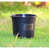 Black Nursery Flower Pots 11cms 4.3Inch