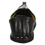 Black Handmade Leather Jutti for Man