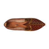 Maroon Handcrafted Mojdi for Man