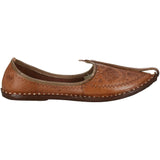 Brown Handcrafted Leather Mojdi
