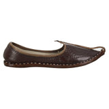 Brown Handcrafted Leather Boys Mojdi