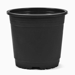 Black Nursery Flower Pots