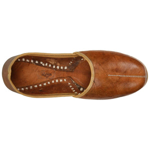 Dark Brown Handcrafted Mojdi for Man