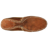 Plain Dark Brown Handcrafted Juti for Man