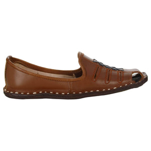 Brick Orange Handcrafted Leather Boys Mojdi
